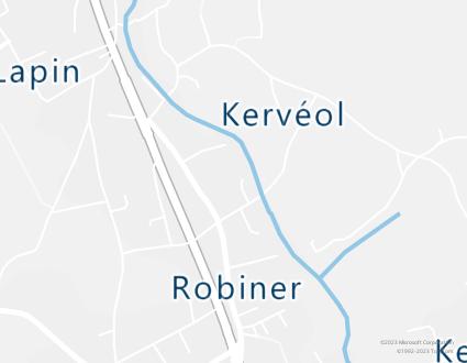 Image de carte  29120 Plomeur 466 Lotissement Du Moulin Pendreff partagé par Azure Maps