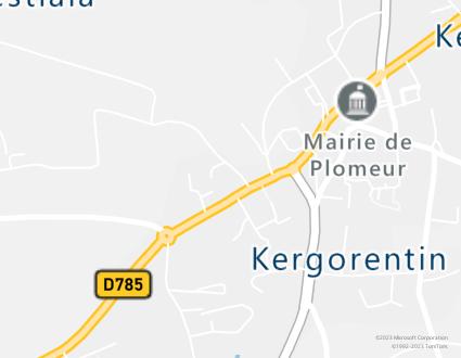 Image de carte  29120 Plomeur Corn Gouez partagé par Azure Maps