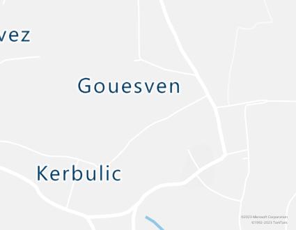 Image de carte  29120 Plomeur Gouesven partagé par Azure Maps
