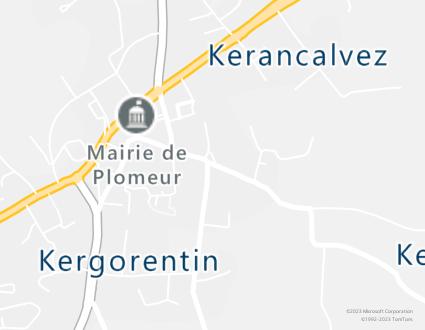 Image de carte  29120 Plomeur 1 Route De Kerbulic partagé par Azure Maps
