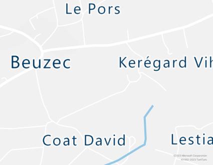 Image de carte  29120 Plomeur 125 Kerégard Gloanec partagé par Azure Maps