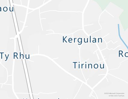 Image de carte  29120 Combrit 1277 Kergulan partagé par Azure Maps