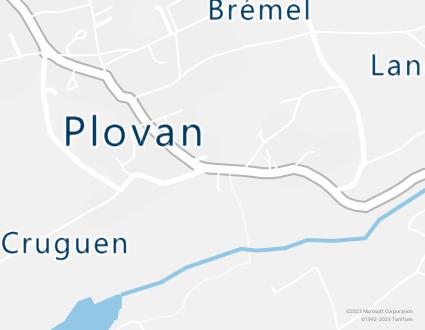 Image de carte  29720 Plovan 195 Keruen partagé par Azure Maps