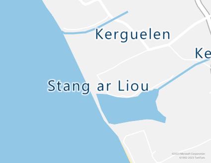 Image de carte  29720 Plovan Stang Ar Liou partagé par Azure Maps