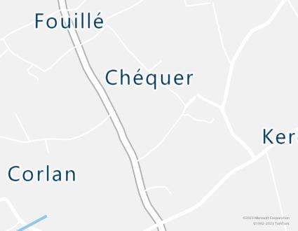 Image de carte  29720 Plovan 1 101 Kerdrezec partagé par Azure Maps