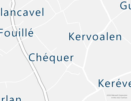 Image de carte  29720 Plovan 102 Chequer partagé par Azure Maps