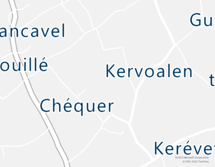 Image de carte  29720 Plovan 44 Ménez Kerlan partagé par Azure Maps