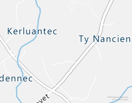 Image de carte  29720 Plovan 292 Tynancien partagé par Azure Maps