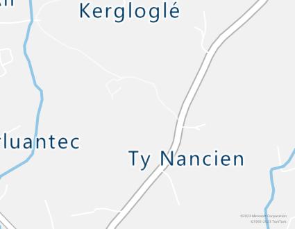 Image de carte  29720 Plovan Kerviel partagé par Azure Maps