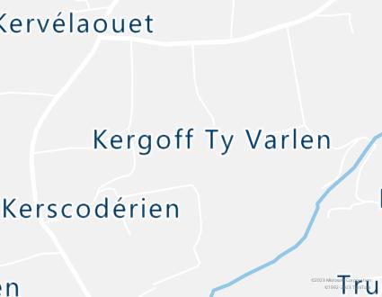 Image de carte  29710 Landudec 230 Kergoff Ty Varlen partagé par Azure Maps