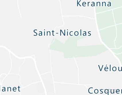 Image de carte  29710 Landudec Saint Nicolas partagé par Azure Maps