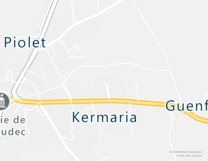 Image de carte  29710 Landudec 332 Guerveur partagé par Azure Maps