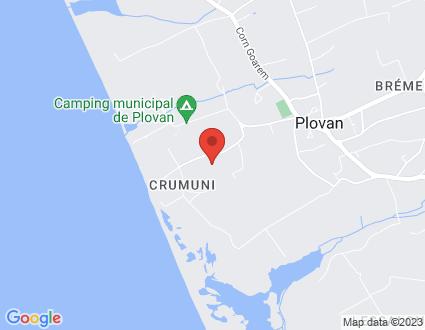 Carte  29720 Plovan Prataboloc H partagé par Service de cartographie Google Maps™